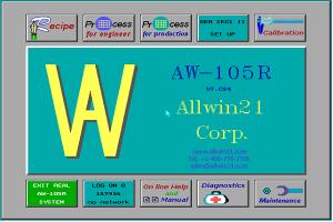 AW-105R Main Menu