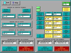 Matrix Plasma Asher Descum System RF Calibration