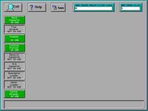 Matrix Plasma Asher Descum System -Robot Station Configuration