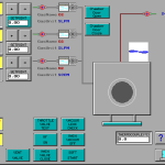 Matrix Plasma Asher Descum System -System Diagnostics Screen