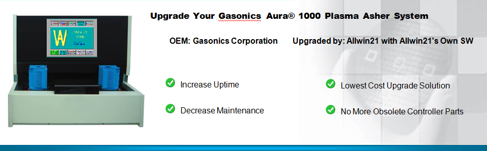 Upgrade Your Gasonics Aura 1000