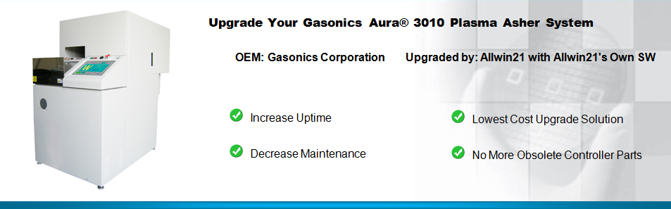 Upgrade Your Gasonics Aura 3010 Plasma Asher