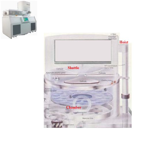 Perkin Elmer 4410 Sputter Deposition process chamber