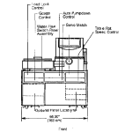 Utilities and Dimension of PE 4410 sputtering deposition system (4)